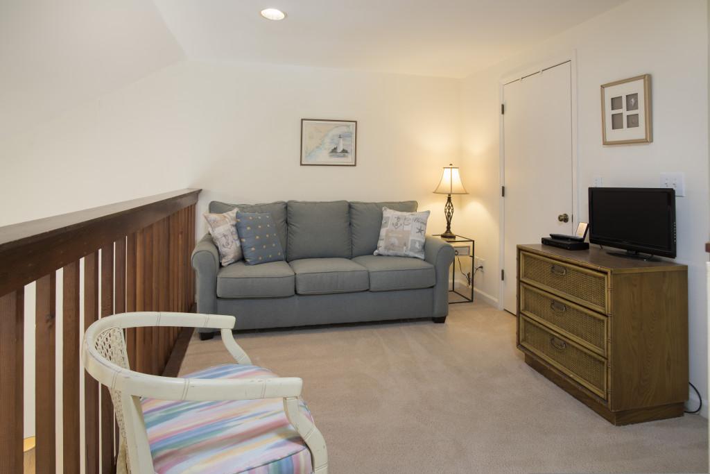 Loft with sleeper sofa