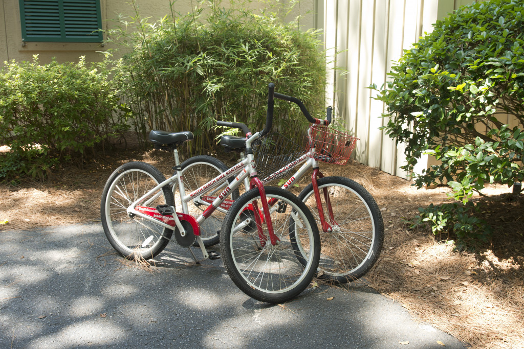 Two adult bicycles included