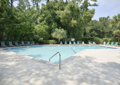 On site pool