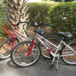 Two free bicycles included with your rental