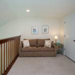 Loft area with sleeper sofa